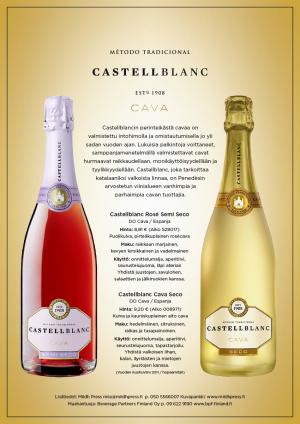 Castellblanc Cavat Seco ja Rose